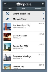 Create and manage your itinerary with the TripCase app.