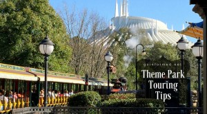 Theme park touring tips
