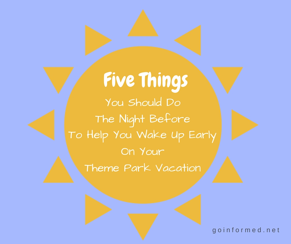Five Things You Should Do The Night Before to Help You ...
