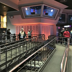 Empty Star Tours Queue During Disney World Extra Magic Hour