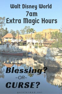 Should You Wake Up for 7am Extra Magic Hours at Disney World?