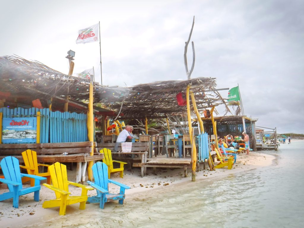 Bonaire's Hang Out Beach Bar is the quintessential Caribbean beach bar.