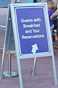 Guests With Breakfast Reservations Should Look For The Entry Sign at the Park Gate