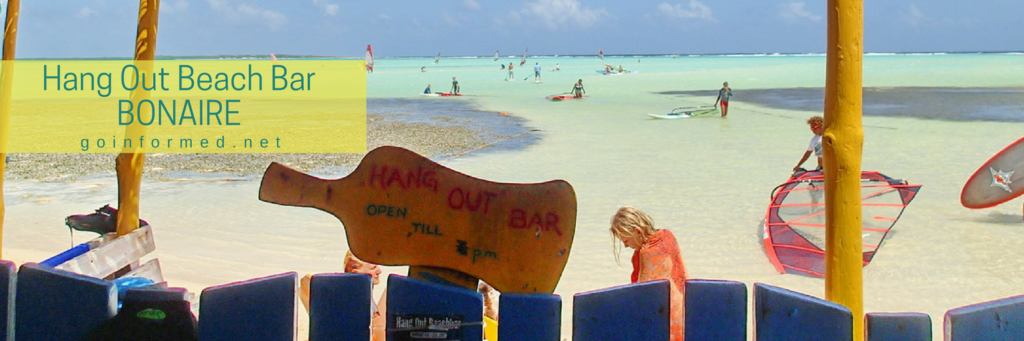 Hang Out Beach Bar, Jibe City, Bonaire