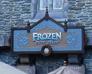 Frozen Ever After Ride At Disney World's EPCOT