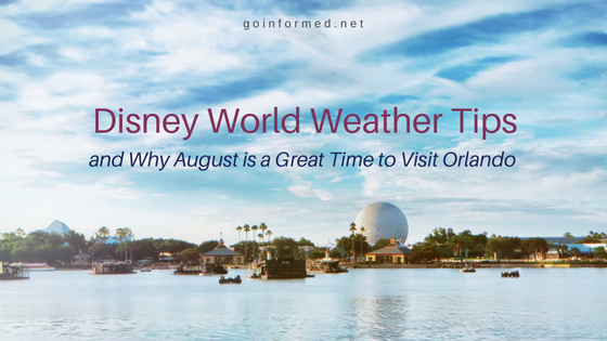 Disney World Weather Tips from goinformed.net