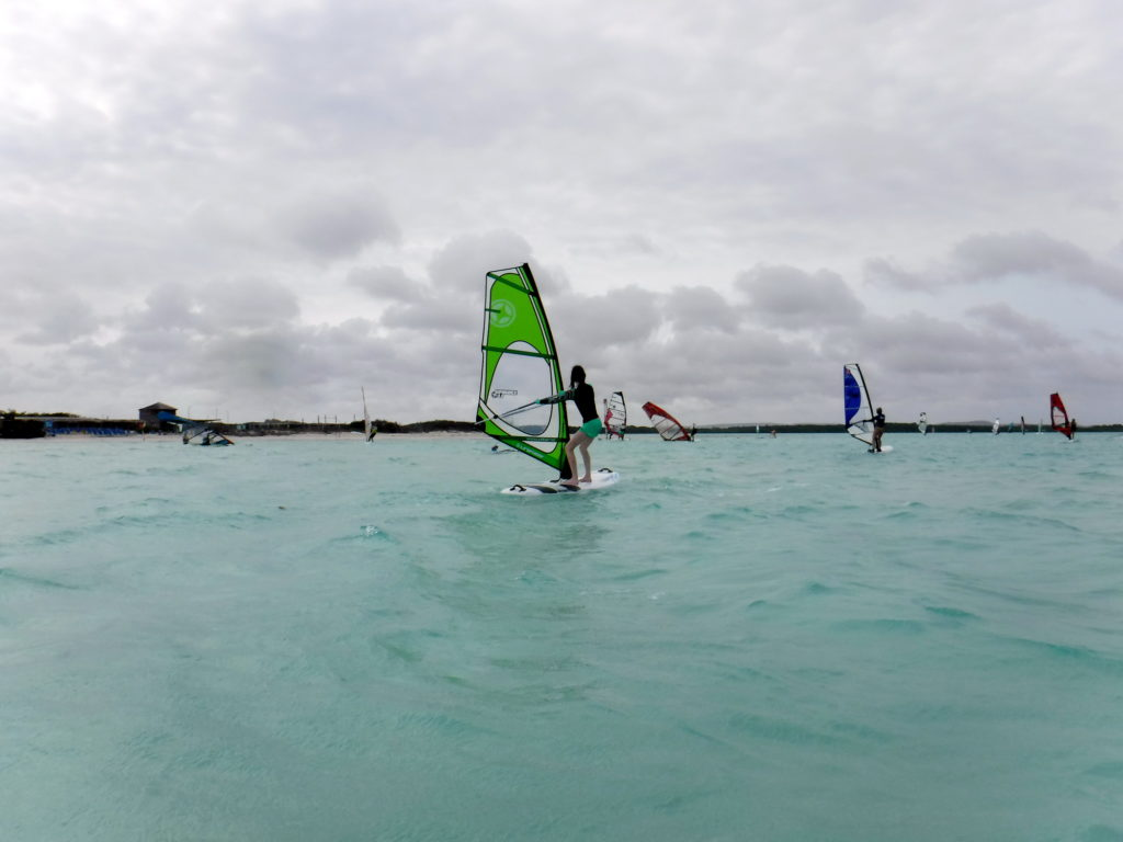 Bonaire's Lac Bay is a world-class windsurfing destination