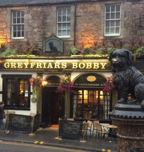 Greyfriars Bobby Pub in Edinburgh