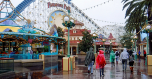 Make the best of a rainy day at California Adventure