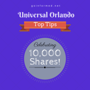 33 Things to Know Before You Visit Universal Orlando tops 10,000 shares!