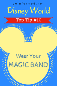 Disney World Top Tip #10: Wear Your Magic Band