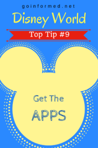Disney World Top Tip #9: Get the Apps, and Know How to Use Them
