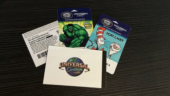 Your hotel key card is your early admission ticket at Universal Orlando. And guests at select hotels also receive complementary Universal Express Passes.