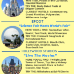 Walt Disney World's Four Theme Parks (Infographic)