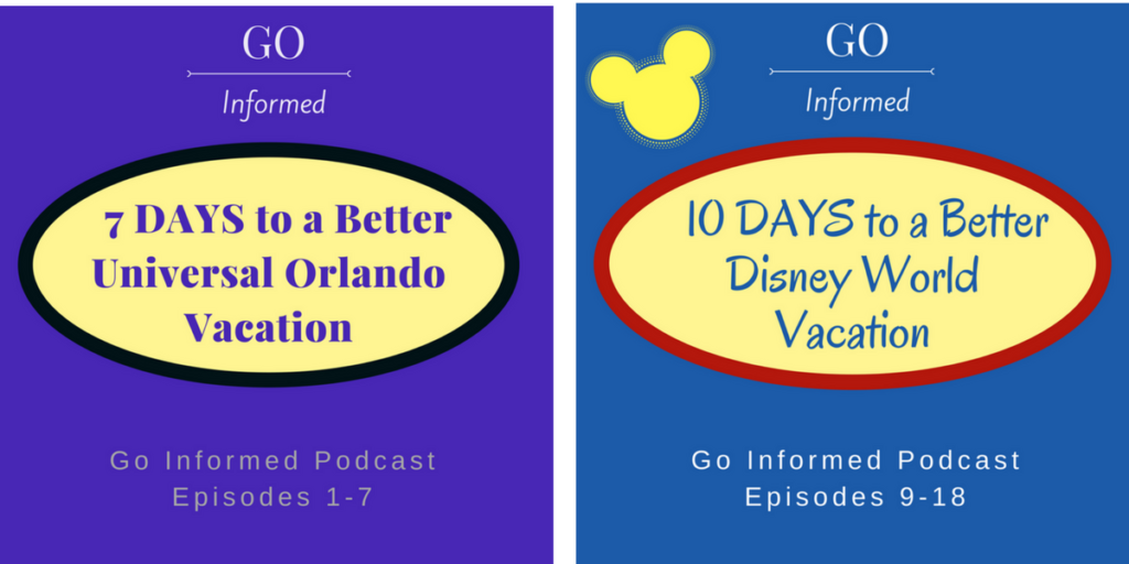 The Go Informed podcast will launch with two bursts of episodes.