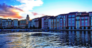 The Portofino Bay hotel at Universal Orlando Resort